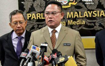 Noh Omar barred from Dewan Rakyat for 3 days