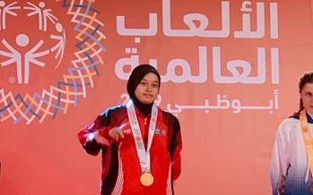 Nurasmah bags Malaysia's first gold at Abu Dhabi 2019