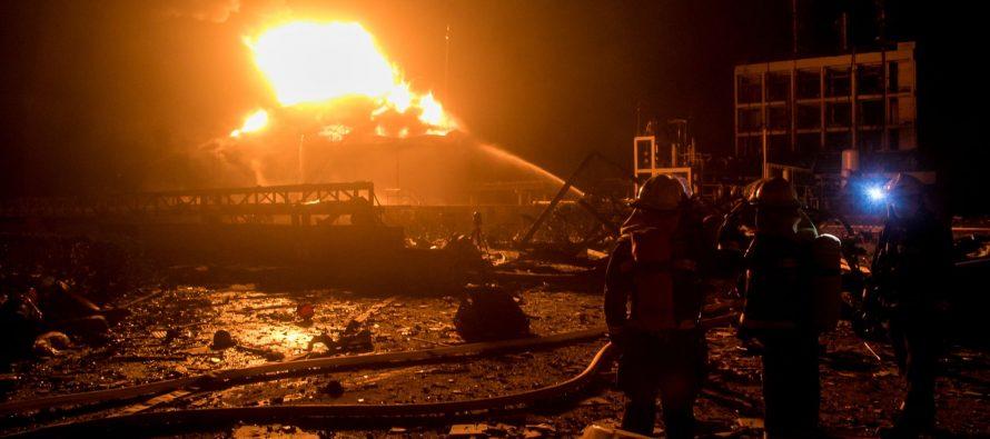 Chinese chemical plant explosion: Dozens killed and hundreds injured
