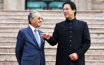 PM Mahathir Mohamad to arrive in Pakistan today