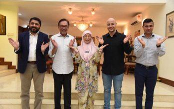 Maher Zain praises DPM Wan Azizah and Anwar Ibrahim