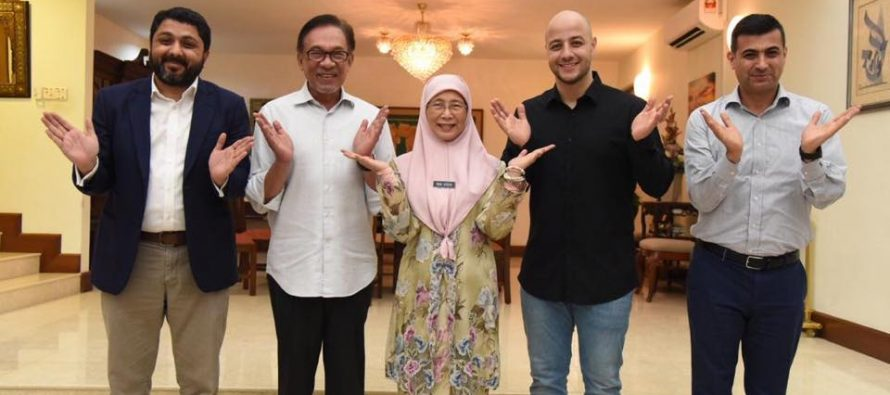 Maher Zain praises DPM Wan Azizah and Anwar Ibrahim - The Leaders Online