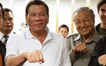Mahathir's visit to the Philippines strengthening ties