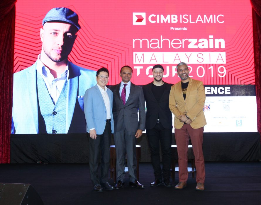 Maher Zain Malaysia Tour 2019 to perform in four states