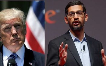 Trump: Sundar Pichai Committed To US Military, Not Chinese""