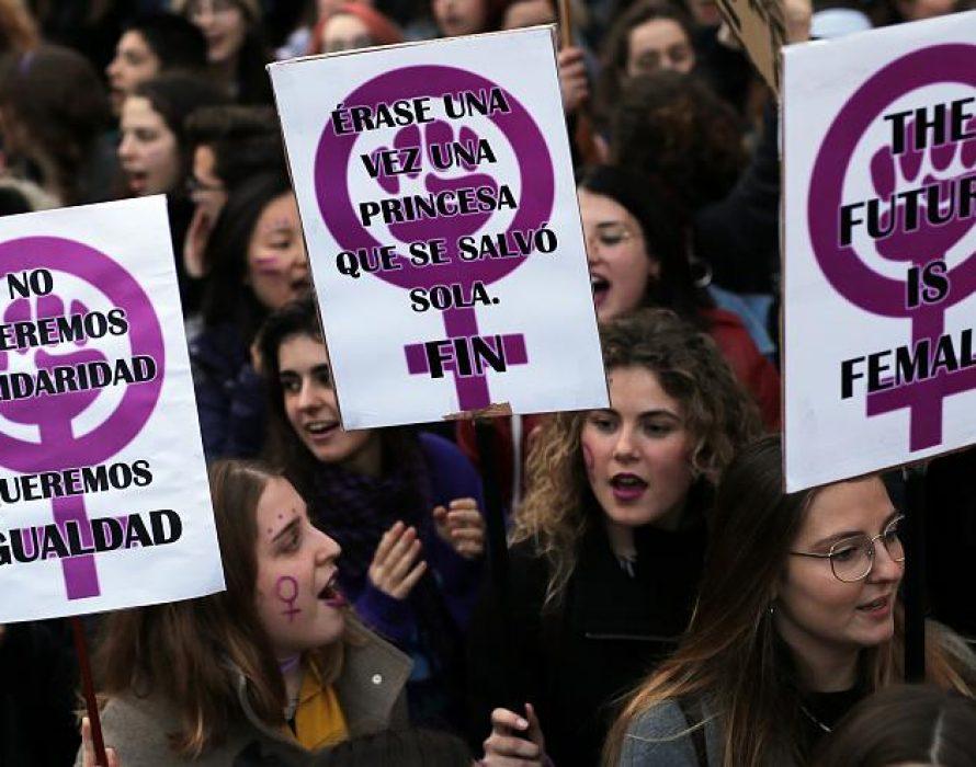 International Women's Day celebration across Europe