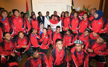 Double silver for Malaysia at Abu Dhabi Special Olympics