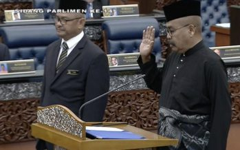 First orang asli MP Ramli takes oath of office in Parliament