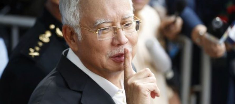 Najib maintains not guilty plea for money landering