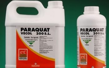 Total ban on paraquat from 2020