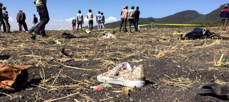 List of nationalities on crashed Ethiopian Airlines plane
