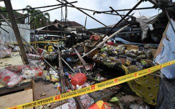 Keropok stall at Pasar Payang destroyed by fire