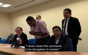 IMU student Kiren Raj formally apologises for sexist and insensitive remarks