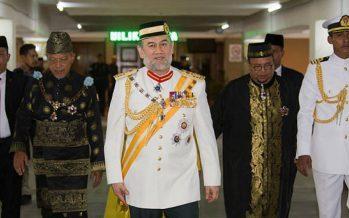 Sultan Muhammad V opens Kelantan state assembly