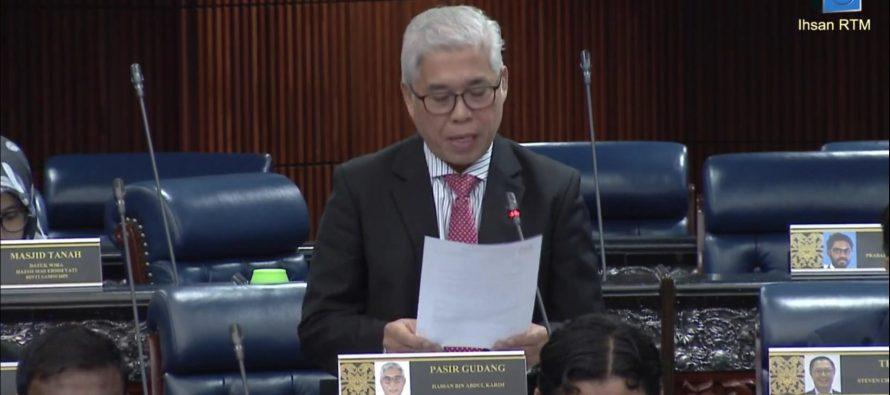Dewan Rakyat to debate Pasir Gudang pollution crisis