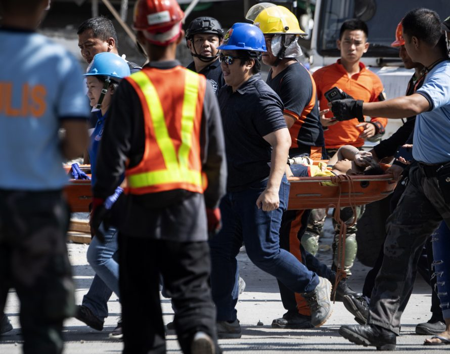 Bangladeshi worker killed by iron scaffolding