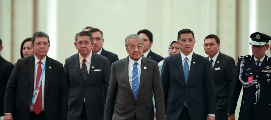 Dr Mahathir attends Belt and Road Forum
