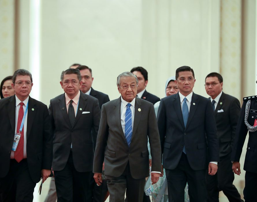 Dr Mahathir attends Belt and Road Forum