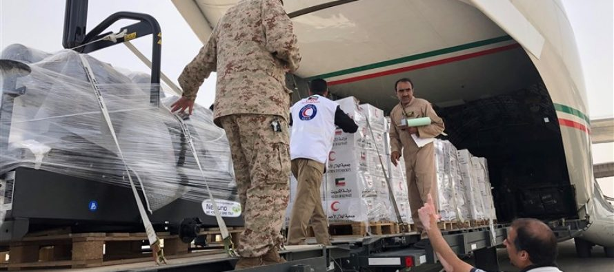 Kuwait sends more humanitarian aid for Iran flood survivors
