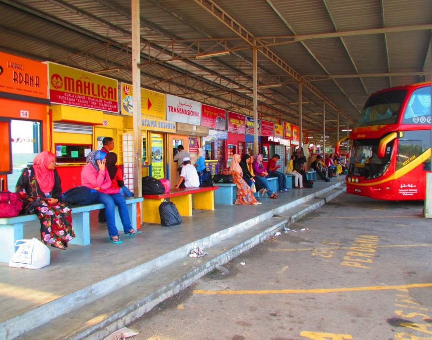 Penang express bus pick-up points outside terminal from tomorrow