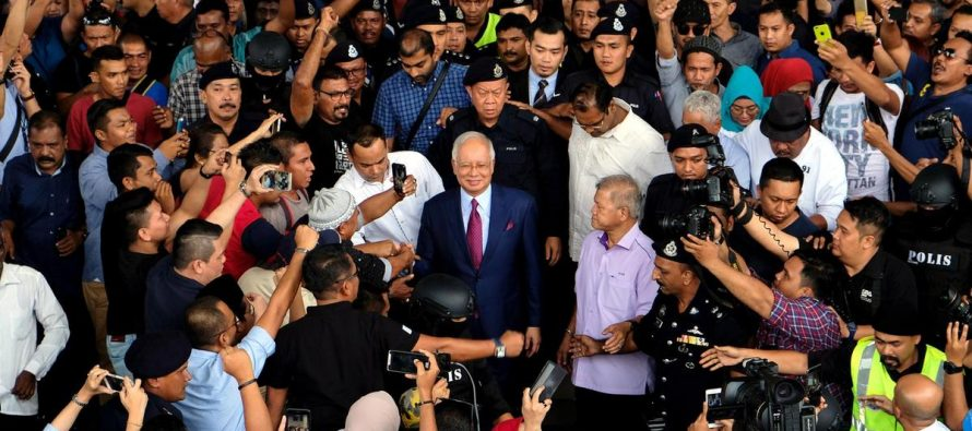 Chronology of Najib's SRC case