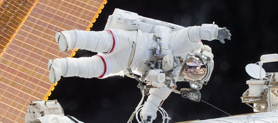US astronaut Cook to set new women's record