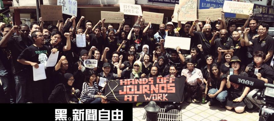 Malaysia's world press freedom leapt due to BN's downfall