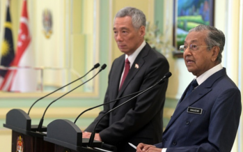 Malaysia, Singapore: Mutual solution to water supply issue