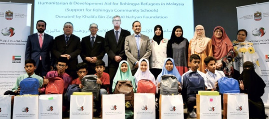 RM300,000 education aid for Rohingyas