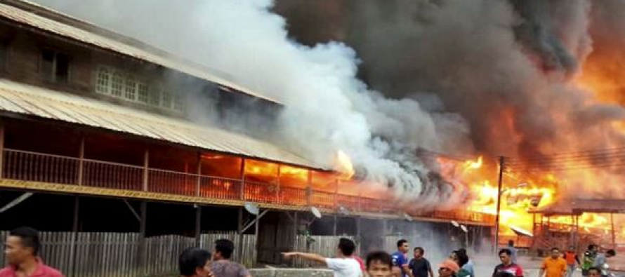 400 people left homeless in Uma Bawang fire