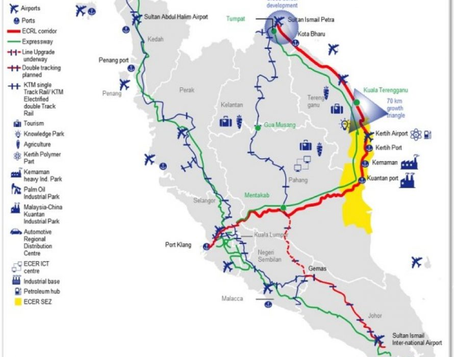 MB- Construction of ECRL project gives priority to local residents