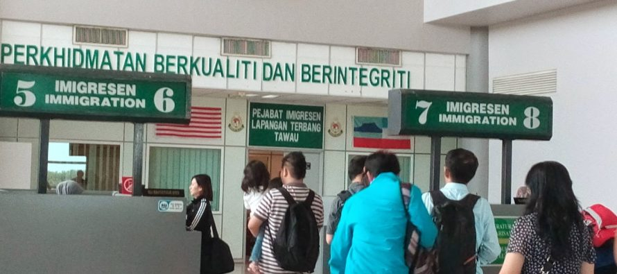 Tawau Immigration Department detains 45 Filipino illegal immigrants
