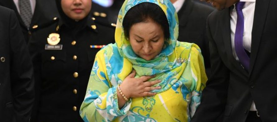 Rosmah Mansor charged for soliciting RM5 million in bribes