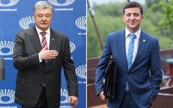 Comedian vs tycoon in Ukraine's presidential election