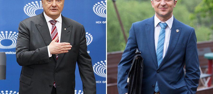 Comedian vs tycoon in Ukraine's presidential election