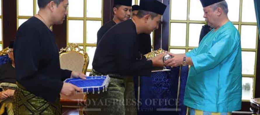 Dr Sahruddin Jamal, Johor's 17th Menteri Besar sworn in