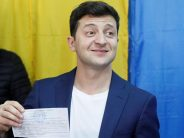 Comedian Zelenskiy wins Ukraine presidential election