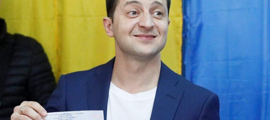 Comedian Zelenskiy wins Ukraine presidential election