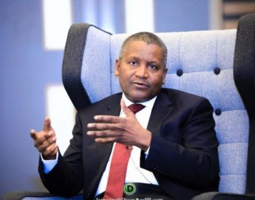 Nigeria's richest man cashes out 10 Million Dollars just to confirm he is rich