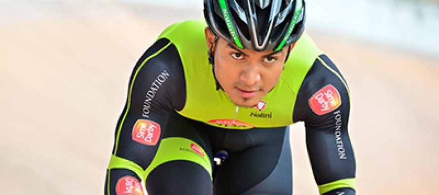 "Cyclist Azizulhasni ""muscling in"" for Tokyo Olympics"