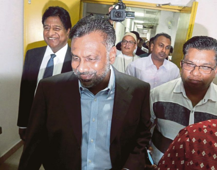 Prosecution to determine Tan Sri S Balakrishnan's case next week