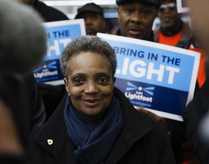 Black, gay woman elected Chicago mayor in historic vote