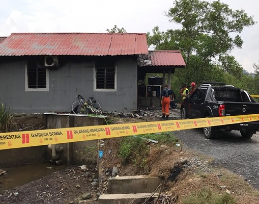 Three family members killed in house fire