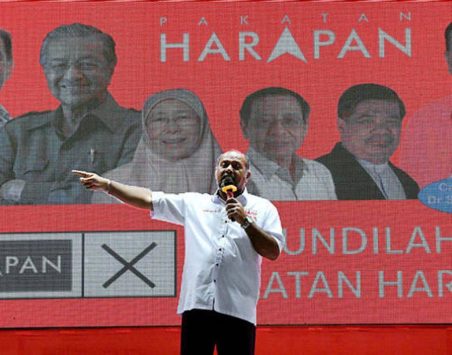 Gobind: Reject kleptocrat supporting BN