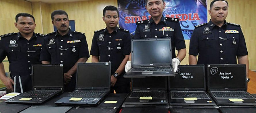Undaunted by raids, gambling den suffers second raid in a week