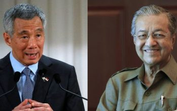 Mahathir, Hsien Loong hold annual talks in Putrajaya