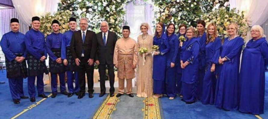 Kelantan Crown Prince marries Swedish sweetheart