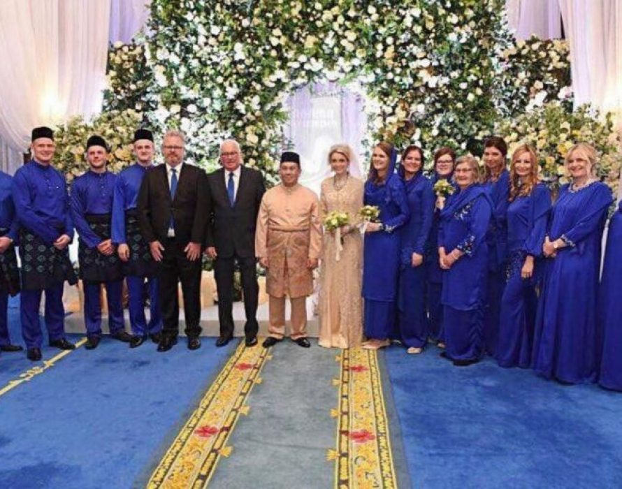 Kelantan Crown Prince marries Swedish sweetheart