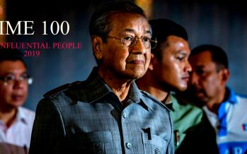 Mahathir: Time's 100 most influential people