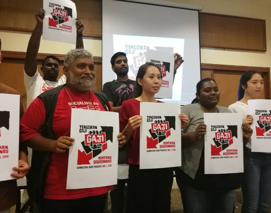 Raise the pay, end the discrimination, key demand for May Day rally